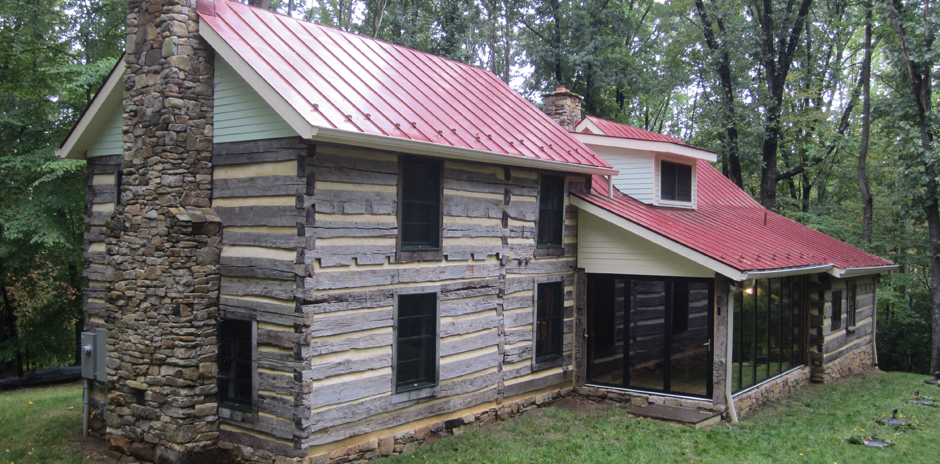Log cabin commonwealth home designcommonwealth home design for Log cabin sunroom additions