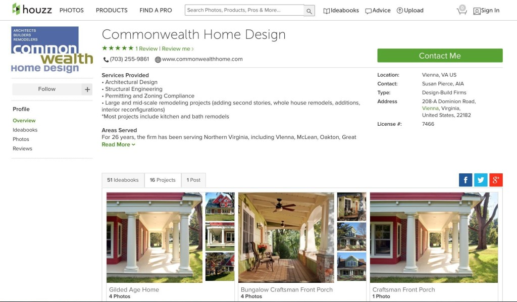 See Commonwealth Home Design and Remodeling on Houzz for Home Remodeling Ideas