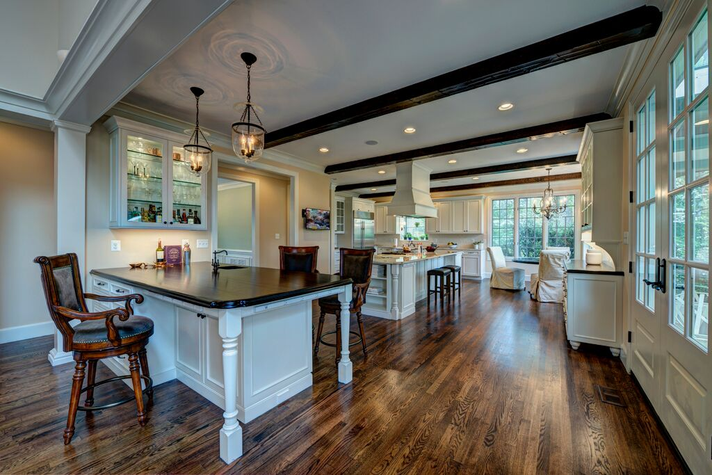 Home Remodeling Northern Virginia Glamorous Whole House Renovation  French Country Home  Commonwealth Home . Inspiration