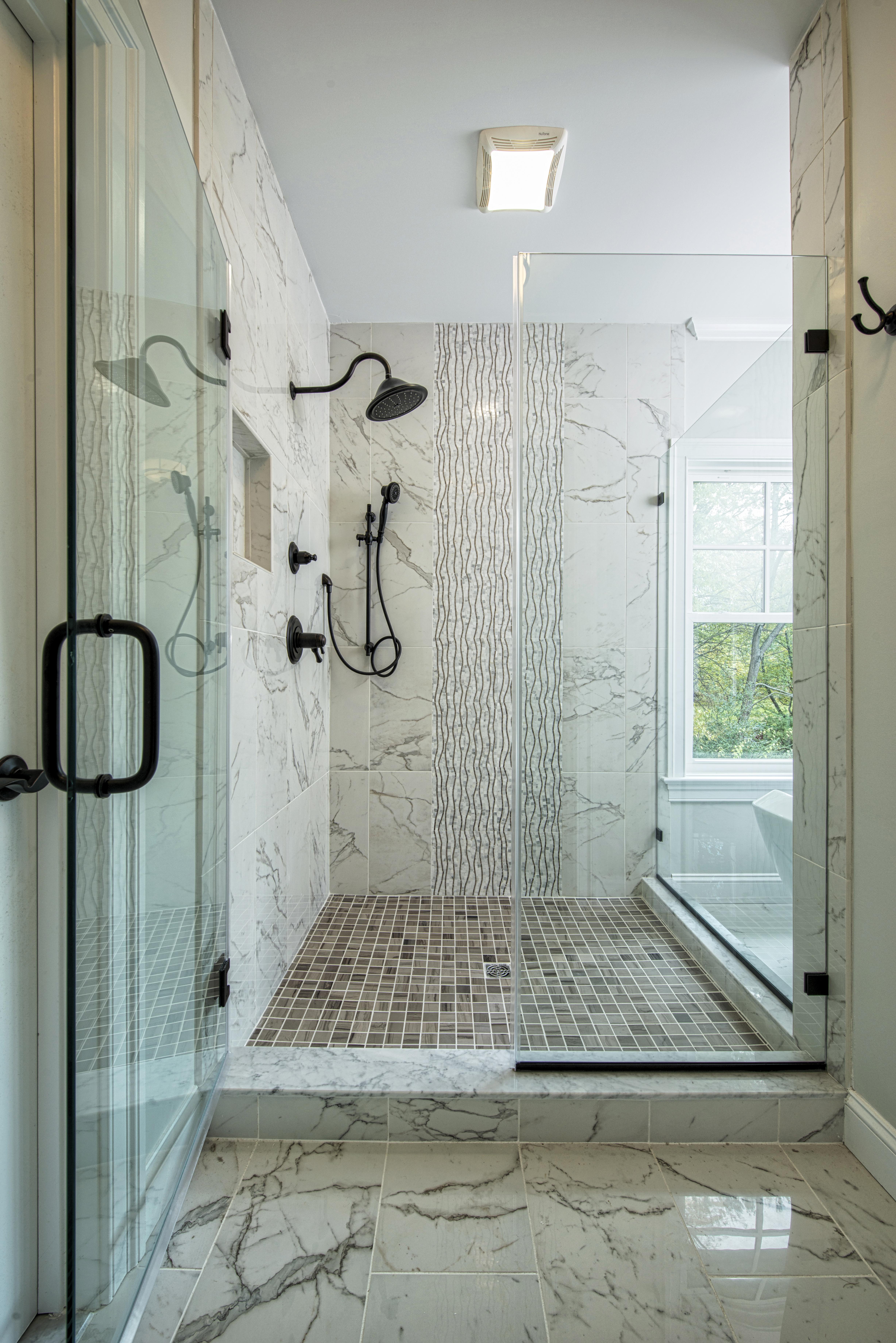 Spa Like Master Bath Shower